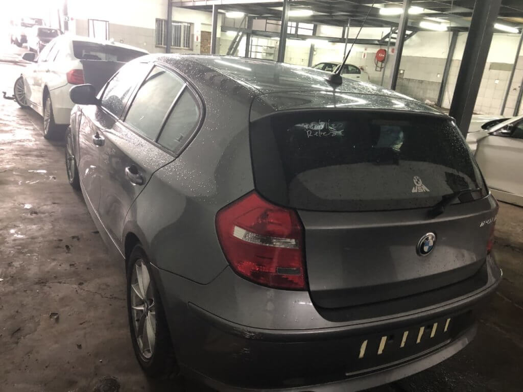BMW 120i e87 facelift stripping for spares